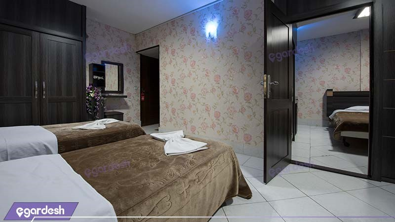 اتاق کانکت دونفره هتل جلفا