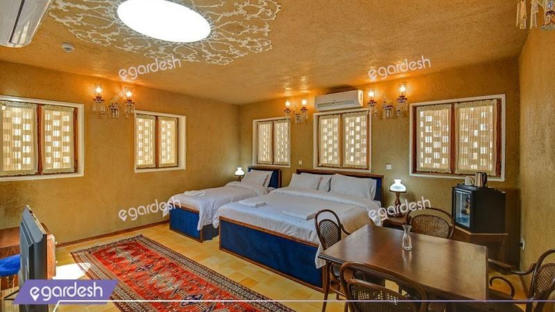 اتاق سه تخته گنبد