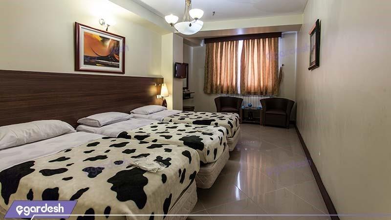 اتاق سه نفره هتل پارت