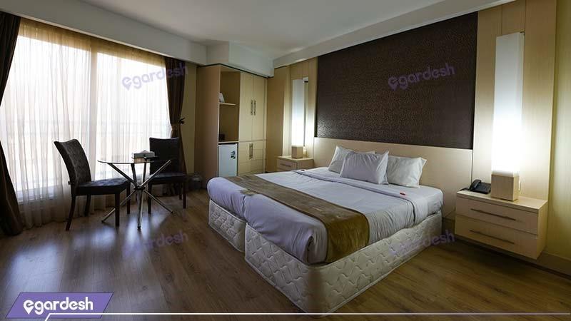 اتاق دبل هتل سفیر