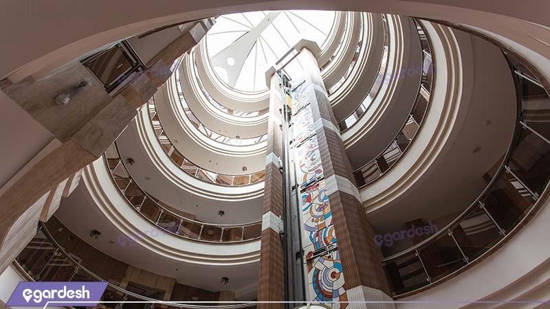 طبقات هتل سفیر