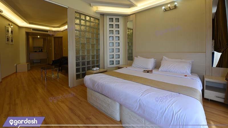 آپارتمان دو خوابه هتل سفیر