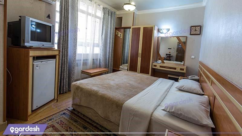 اتاق دو تخته دبل هتل سپاهان