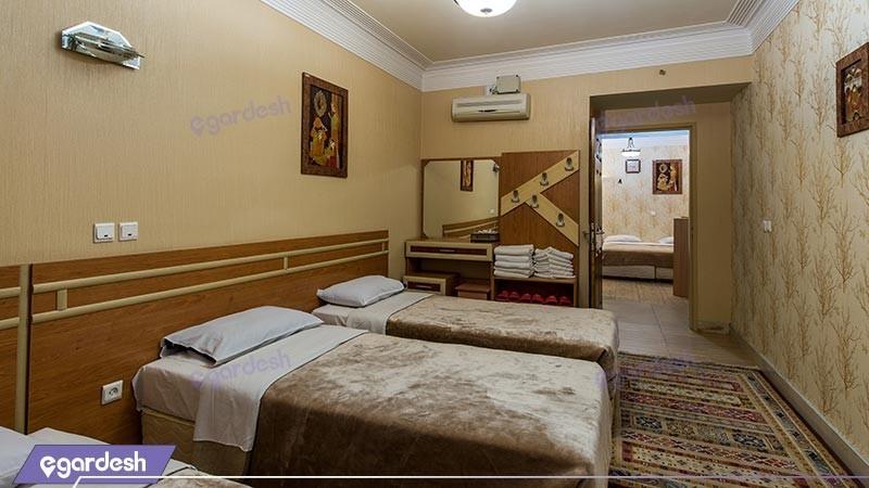 اتاق پنج تخته هتل سپاهان