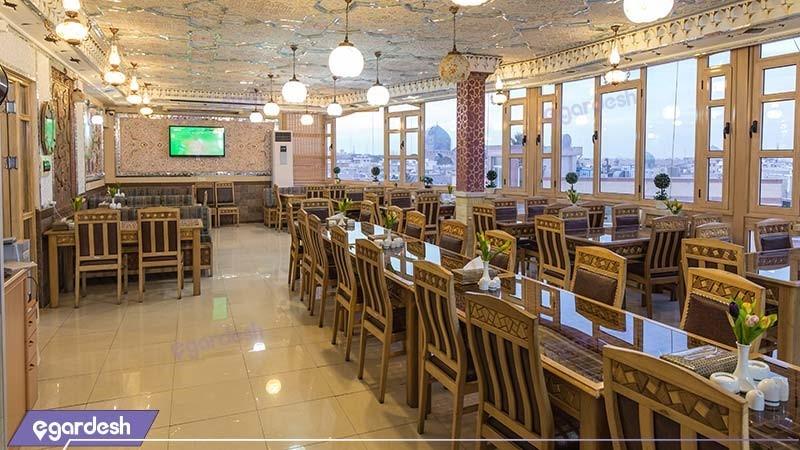 رستوران هتل سپاهان