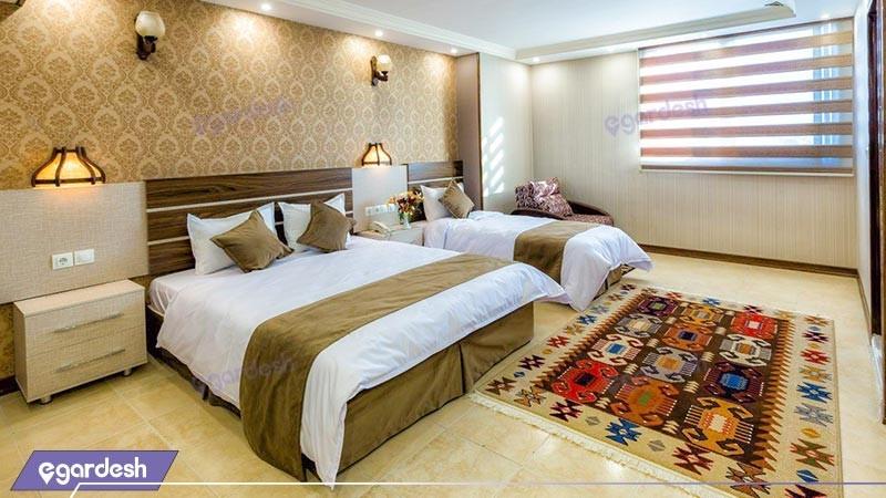 اتاق سه تخته هتل ونوس