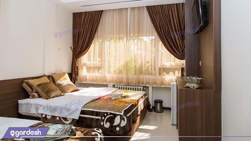 اتاق چهار نفره هتل ویانا