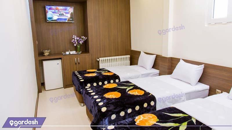 اتاق سه نفره هتل ویانا