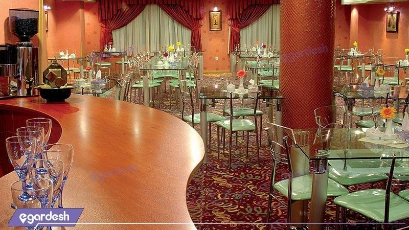 کافی شاپ هتل زهره