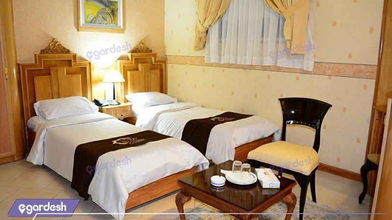 اتاق دو تخته توئین هتل زهره