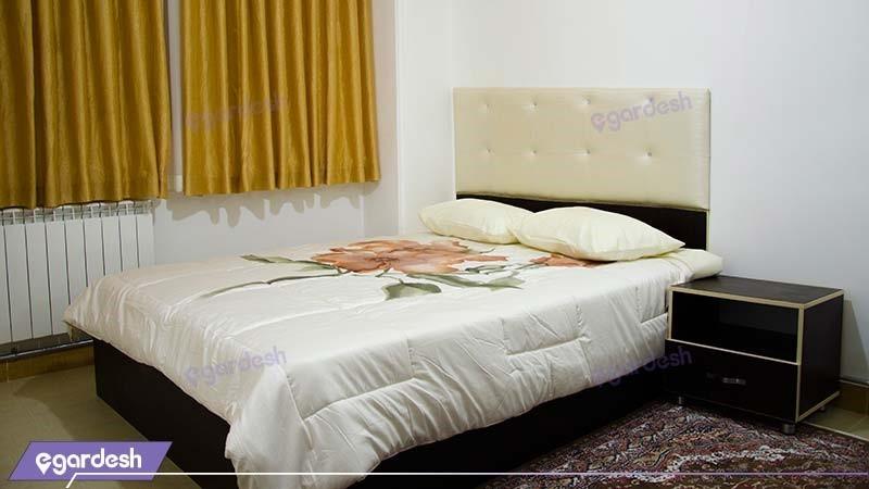اتاق دبل هتل آپارتمان آلتین ارس