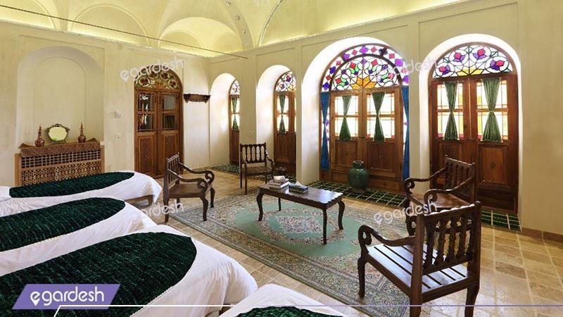پنج تخته شاه نشین هتل سنتی خانه مرشدی
