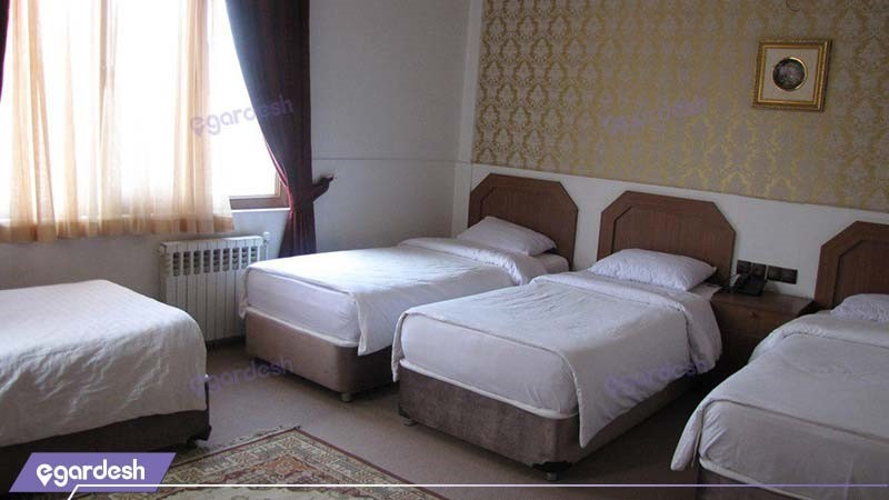 اتاق چهار نفره هتل امیر کبیر کرج