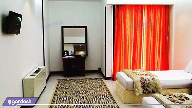 اتاق دو نفره هتل امیر کبیر کاشان
