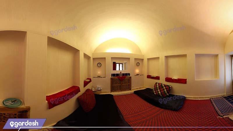 اتاق پرده سرا هتل سنتی خانه ایرانی