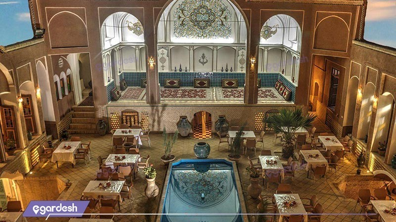 رستوران هتل سنتی نگین