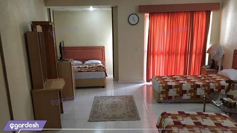 اتاق پنج نفره هتل مارال