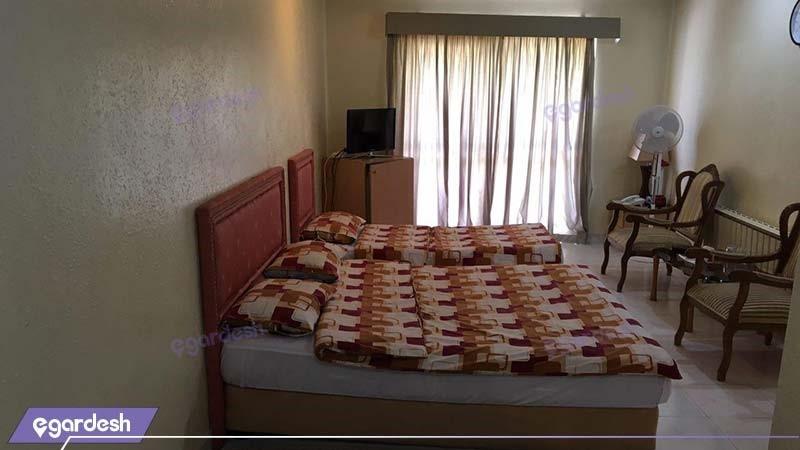 اتاق سه نفره هتل مارال