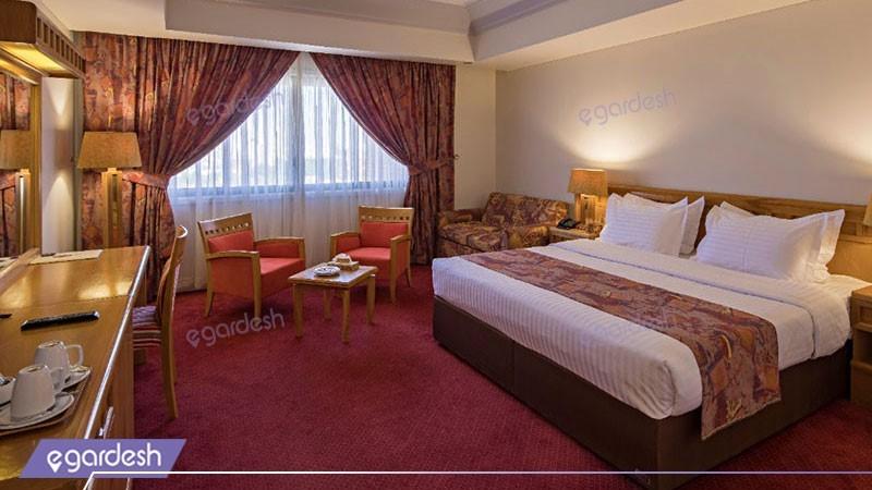 دو تخته رو به باغ هتل پارس