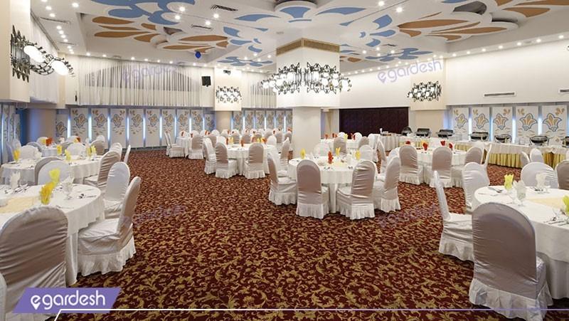 سالن پذیرایی هتل پارس