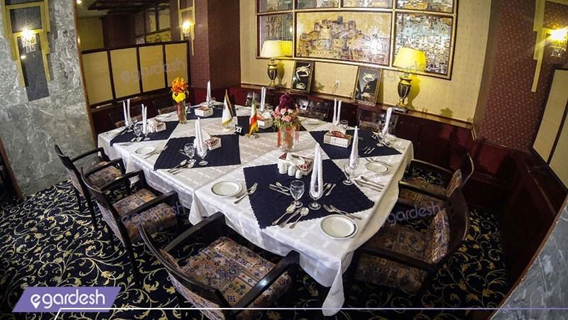 رستوران هتل پارس