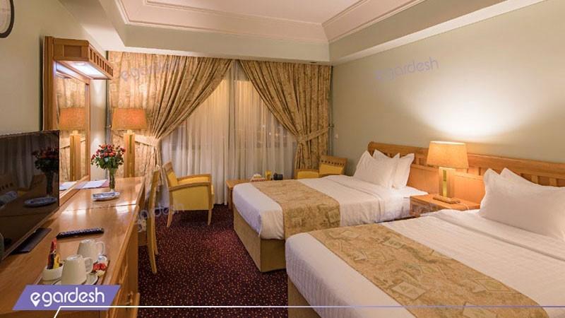 دو تخته توئین هتل پارس