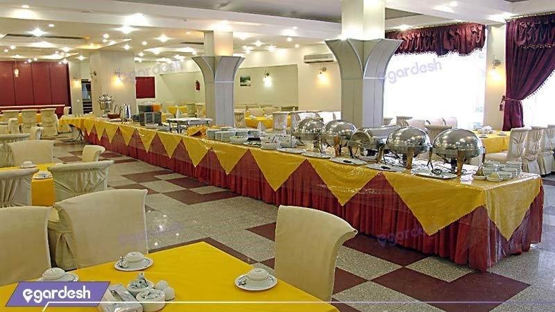 رستوران هتل جهانگردی کرمان