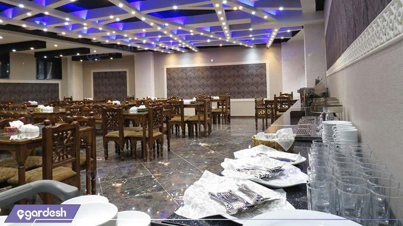 رستوران هتل آپارتمان کوروش کرمانشاه