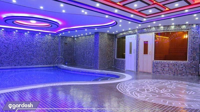 استخر هتل آپارتمان کوروش کرمانشاه