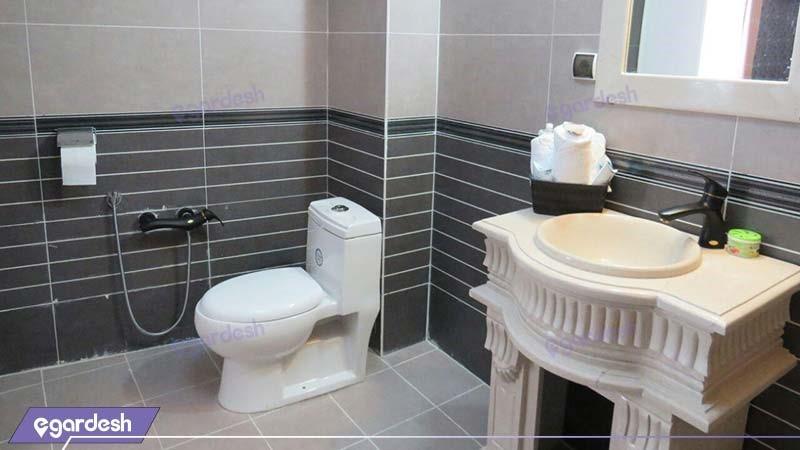 سرویس بهداشتی هتل آپارتمان کوروش کرمانشاه
