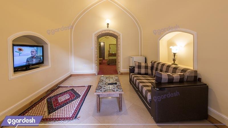 اتاق دو تخته دبل هتل بین المللی لاله بیستون