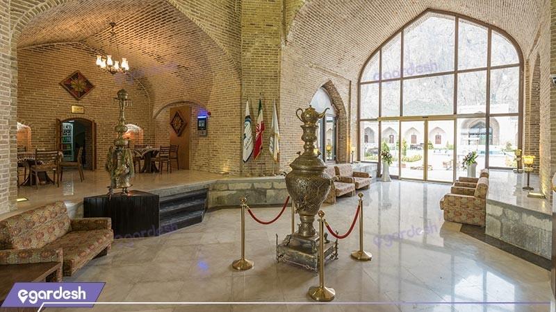 لابی هتل بین المللی لاله بیستون