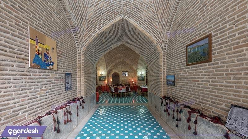 رستوران هتل بین المللی لاله بیستون