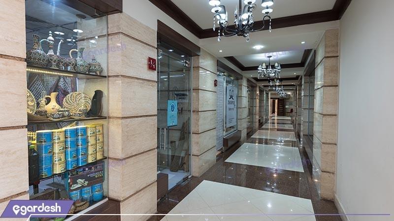 غرفه های تجاری هتل پارسیان