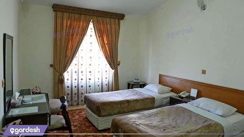اتاق دو تخته مهمانسرای جهانگردی خلخال