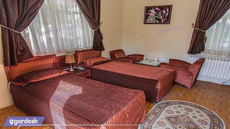 اتاق دو تخته مجتمع جهانگردی خرم آباد