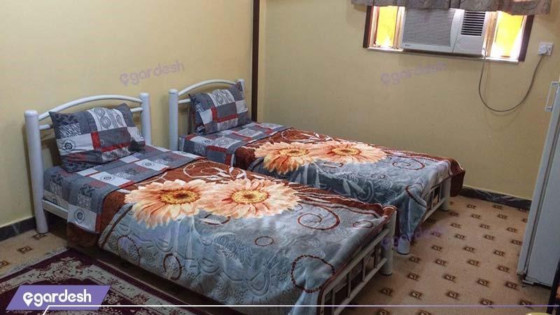 اتاق دو نفره هتل نگین اروند خرمشهر