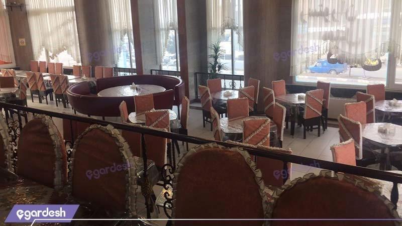 رستوران هتل ثمین