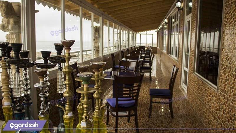 چایخانه هتل دریا کنار