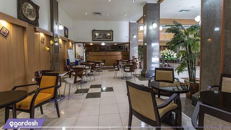 کافی شاپ هتل آفتاب شرق