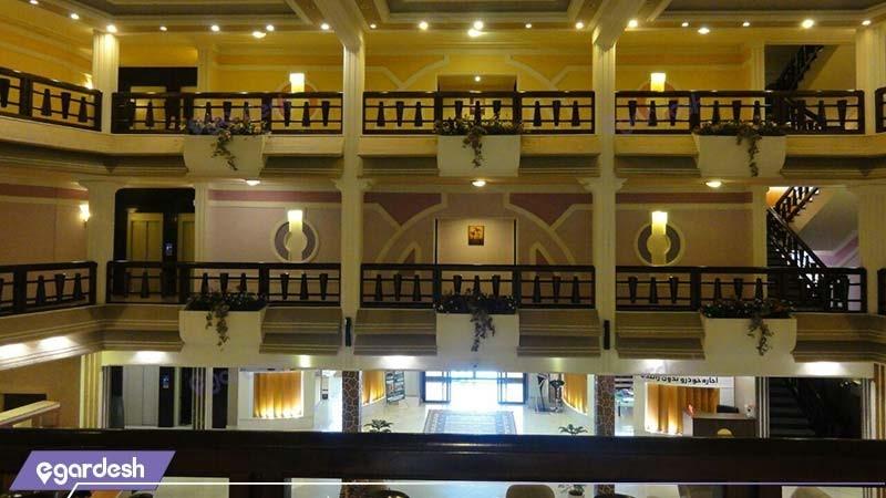 طبقات هتل آریان کیش