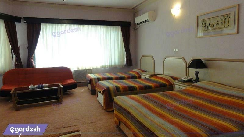 اتاق چهار نفره هتل آریان کیش
