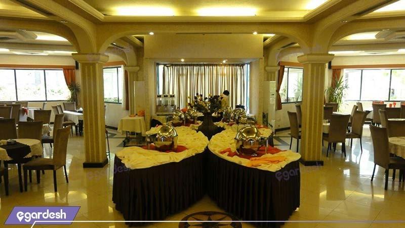 رستوران هتل آریان کیش