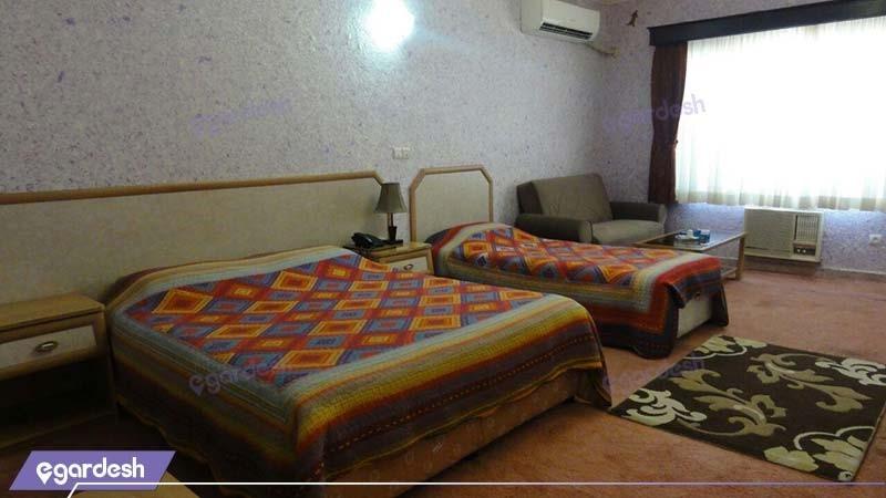 اتاق سه نفره هتل آریان کیش