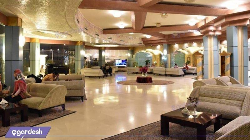 لابی هتل بزرگ ارم