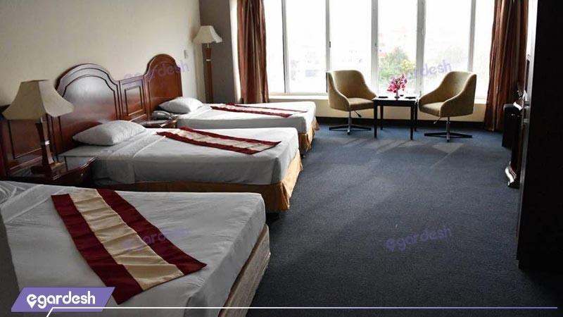 سوئیت چهار تخته هتل بزرگ ارم