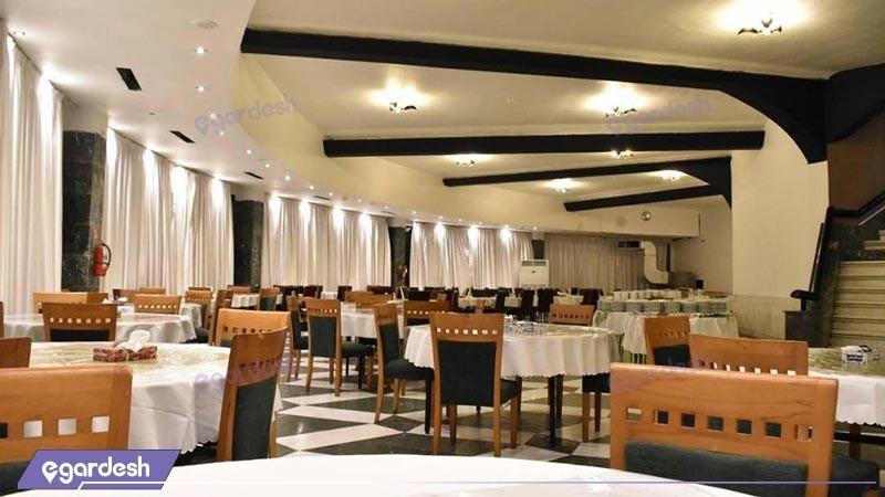 رستوران هتل بزرگ ارم