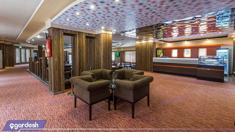 کافی شاپ هتل فلامینگو