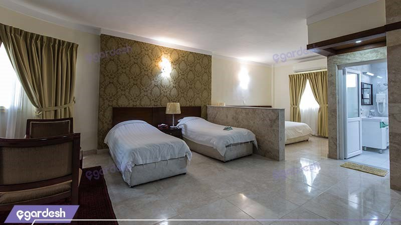 اتاق چهار نفره هتل فلامینگو
