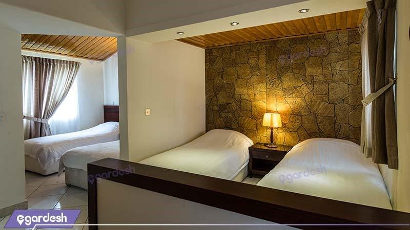 ویلای چهار نفره هتل فلامینگو